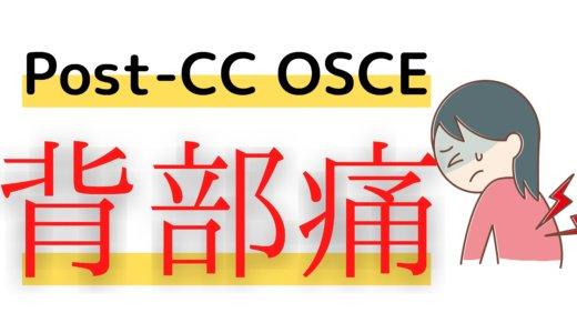 Post CC OSCE 練習シート 79 歳 女性